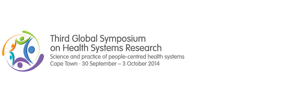 IPH presentations at Health Systems Research Symposium at Cape Town, South Africa